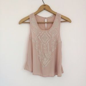 Tops - Chloe & Katie Embroidered Tank